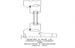 Machinery sectional details