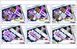 Madrid school floor plan dwg file