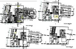 Mall cultural plan dwg detail.,