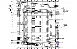 Mall plan detail dwg file