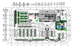 Mall project plan layout file