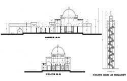 Masjid Design CAD File