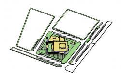Masjid Minar Design 3D Model