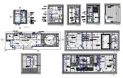 Master Bathroom Project AutoCAD File