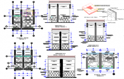 Master Bathroom plan dwg file