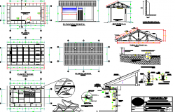 Maternity Care Center Architecture Project dwg file