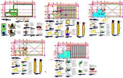Mechanical workshop of structural design