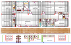 Medical Health Center Architecture Project dwg file