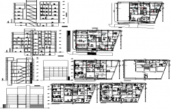 Medical clinic floor plan & Elevation detail