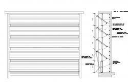 Metallic car pantry layout file