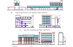 Mill planing detail dwg file