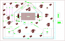 Mineral water container industrial plant plan dwg file