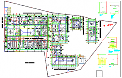 Mini Hospital design drawing