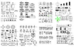 Miscellaneous Blocks dwg file