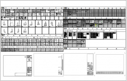 Miscellaneous block design view dwg file