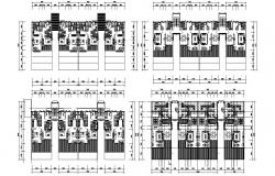 Modern Apartment plans with Working AutoCAD File