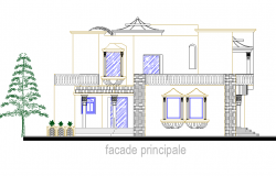Modern Elevation design of House project