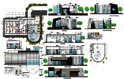 Modern Hotel design Lay-out