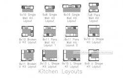 Modern Kitchen Platform Design AutoCAD drawing download
