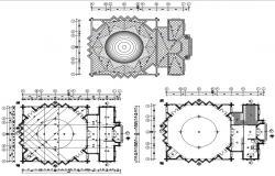 Mosque Design Plan