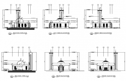 Mosque Elevation Design