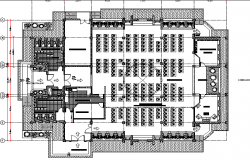 Mosque floor plan dwg file