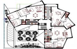 Multi-Family Residential Building Design and Structure Details dwg file