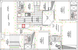 Multi-Family Residential Building Structure Details dwg file