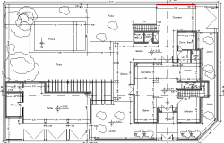 Multi-Flooring Bungalow Design Section and Structure Details dwg file