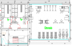 Multi-Flooring Club House Structure Details dwg file