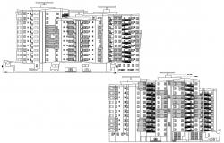 Multi Storey Building CAD Drawing