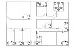 Multi-family Residence Layout Plan