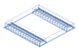 Multi five_Beta_Optic electrical 3d wire frame view dwg file