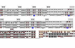 Multi-specialty and multi-flooring hospital full elevation dwg file