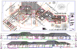 Multifamily Residence Plan dwg file