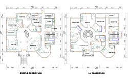 Multifamily Residence layout plan