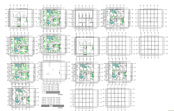 Multifamily apartment Drawing and detail