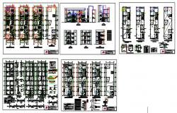 Multifamily housing design drawing