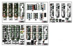 Multifamily recidential apaartmant dwg.file