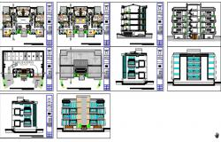 Multiple family building