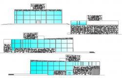 Multiplex Building Design DWG File