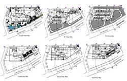 Multiplex Theatre Plan AutoCAD File