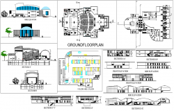 Multiplex and shopping Mall plan