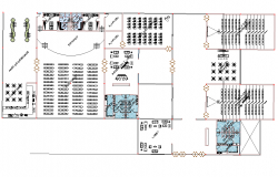 Multiplex theater project dwg file