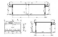 Multipurpose Hall Plan DWG File