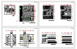Multipurpose hospital building plans drawings