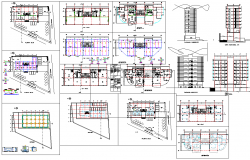 Multistory apartment dwg files