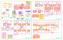 Multistory building sanitary facilities guide in autocad dwg files