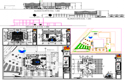 Municipal delegation Architecture projects detail drawing