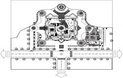 Museum Planning and Design CAD File